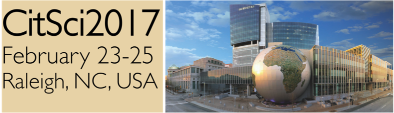 CitSci2017 Raleigh image banner w dates small